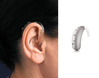 behind the ear BTE hearing aid